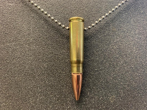 """The Infidel"" 7.32x39 (AK47 Round) Bullet Necklace"
