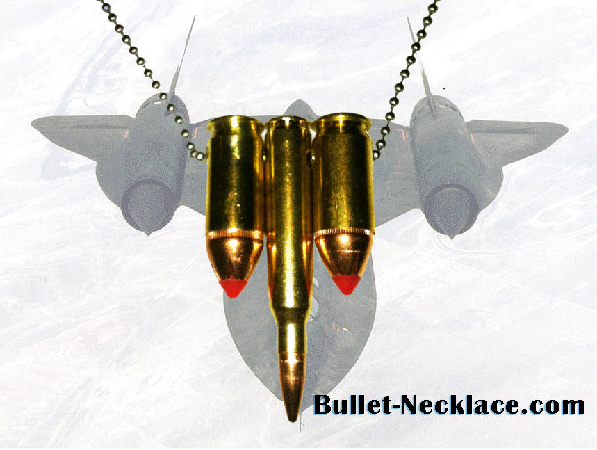 The SR71 Bullet Necklace