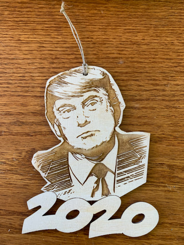 Trump 2020 Ornament
