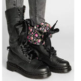 Middle Boot Non-Slip Round Toe Lace-Up Boots