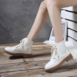 Winter Strap Snow Knee Bootie Cowboy Warm Shoes