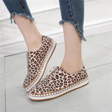 Casual Sneakers Flat Fashion Round Toe Pumps