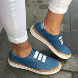 Flats Hollow-Out Casual Shoes Breathable Sneakers