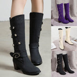 High Heel Snow Boots