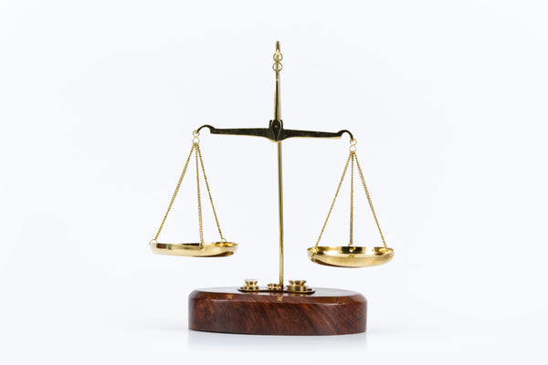 Large Brass Scale