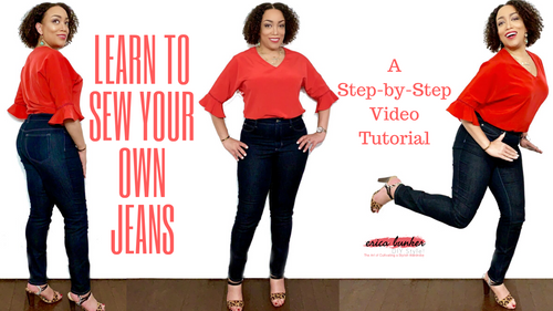 Learn to Sew Your Own Jeans -- A Step-by-Step Video Tutorial