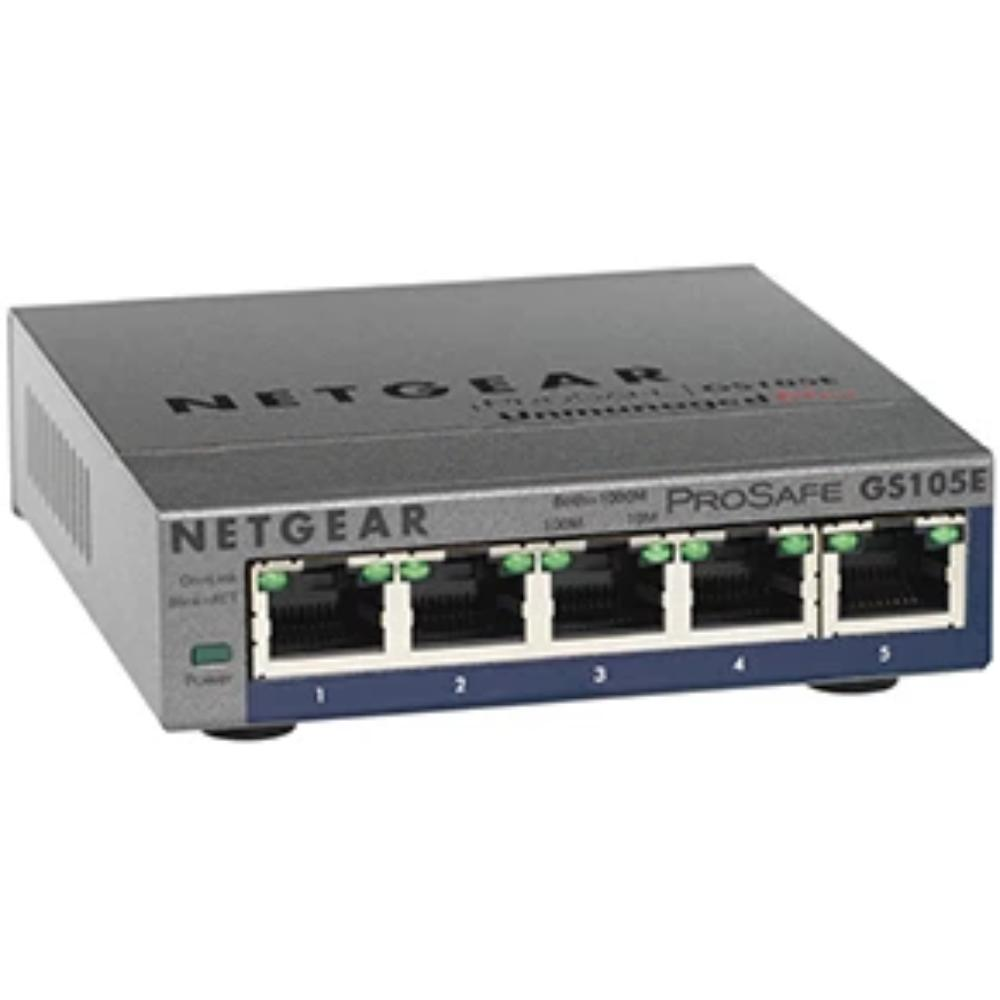 NetGear 5-Port 1Gigabit Network Switch