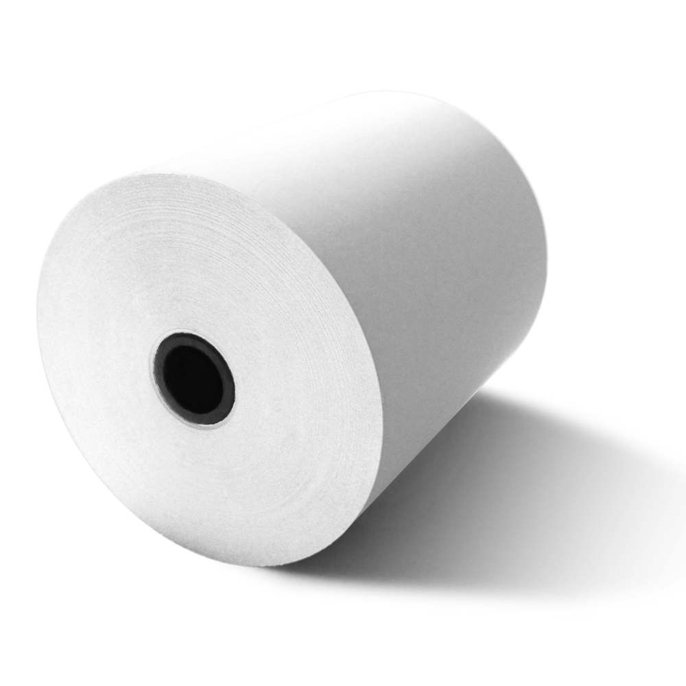 80mm X 80mm Thermal Paper Rolls (24 Rolls)