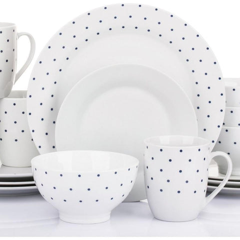 16pc Complete Stoneware Dinner Set