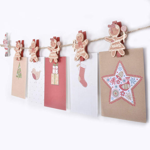Christmas Card Pegs