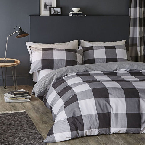 Gingham Duvet Set