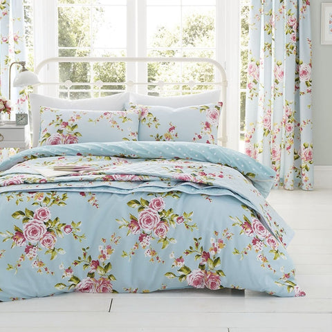 Blue Spring Flowered Duvet