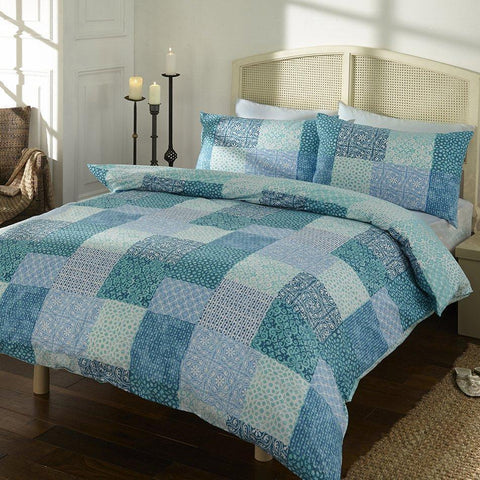 Moroccan Turquoise Duvet Set