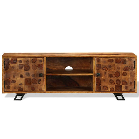 Solid Sheesham Wood TV Cabinet