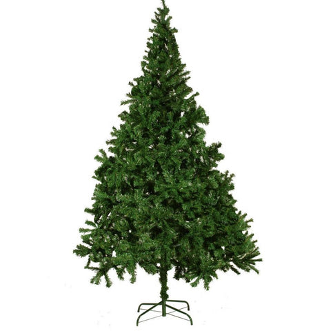 Artificial Christmas Tree with Thick Branches - 210 cm