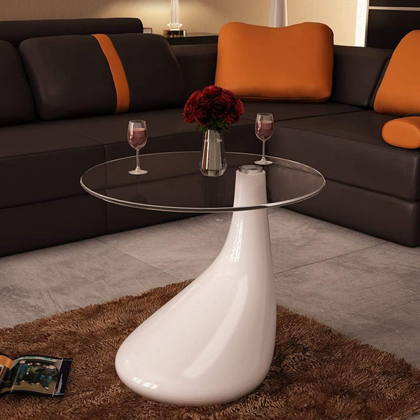 White Drop Coffee Table