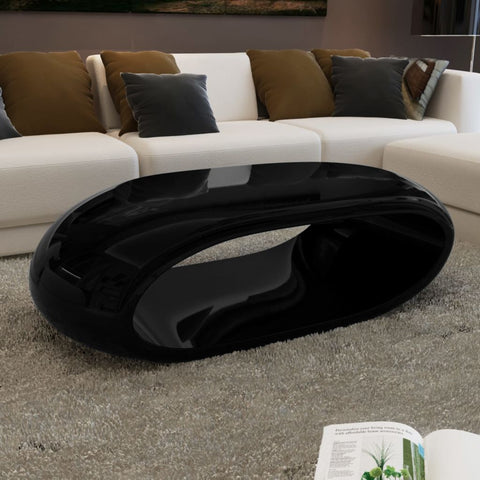 Black Hollow Coffee Table