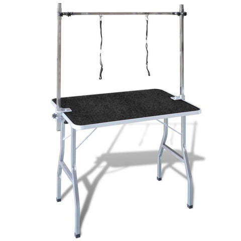 Bath Grooming Table for Pets - Adjustable 2 Loops