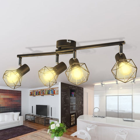 Black Industrial Styled Light