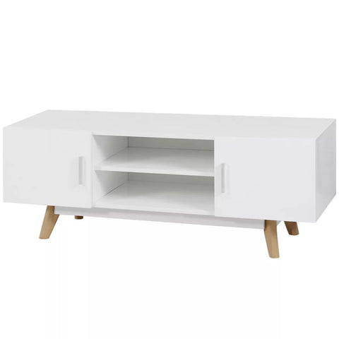 White High Gloss TV Cabinet