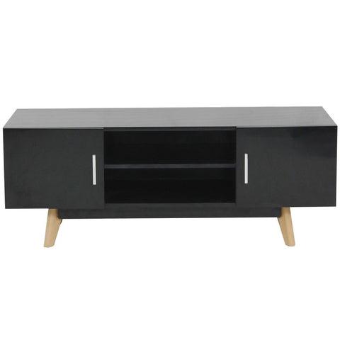 Black High Gloss TV Cabinet