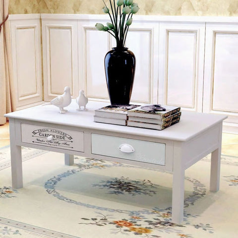 French Shabby Chic Coffee Table