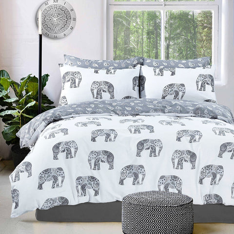 Elephant Duvet Set
