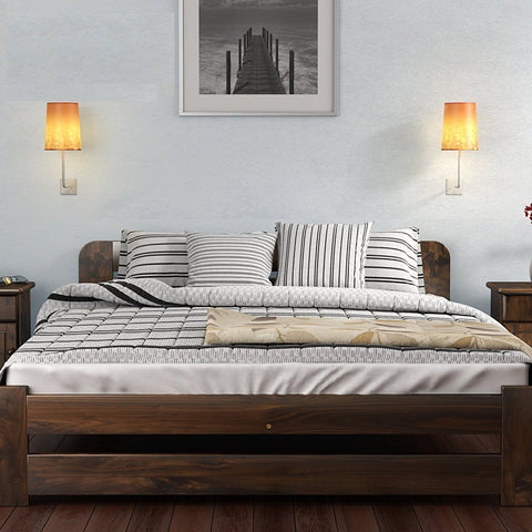 Solid Pine Bed Frame - Double/King