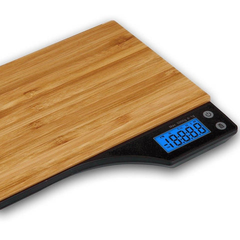 Digital Bamboo Kitchen Scales