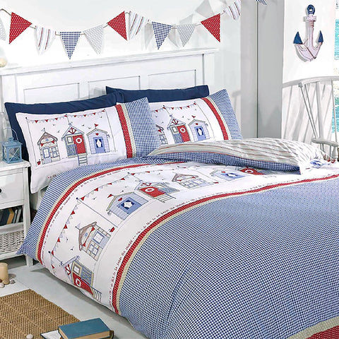 Beach Huts Duvet Set