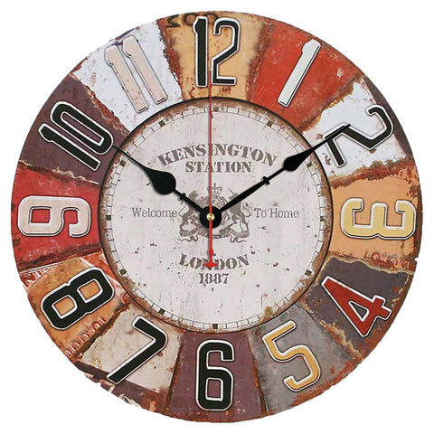 Kensington Station London Wall Clock