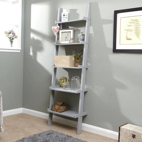 Wall Ladder Shelves