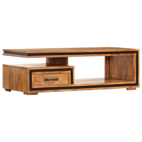 Solid Acacia Wood Coffee Table