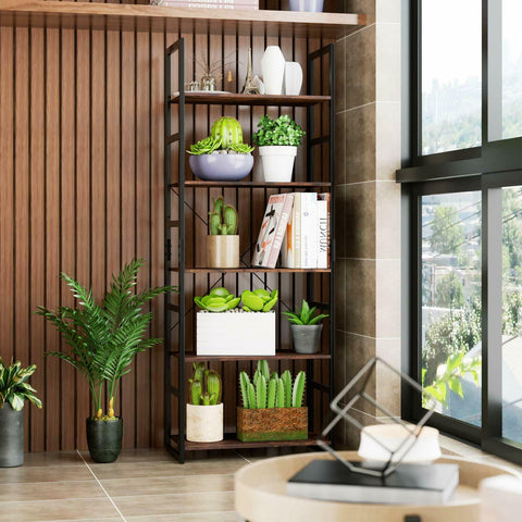 5 Tier Ladder Storage Shelving