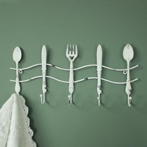 Shabby Chic Kitchen Wall Hooks