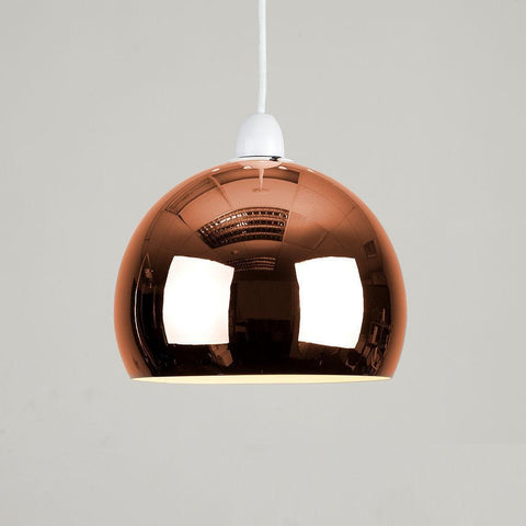 Copper Domed Light Shade