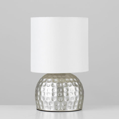 Silver Touch Control Lamp