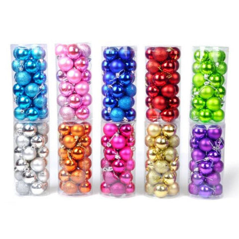 24pcs Baubles Set