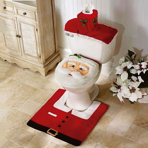 Santa Claus Bathroom Set