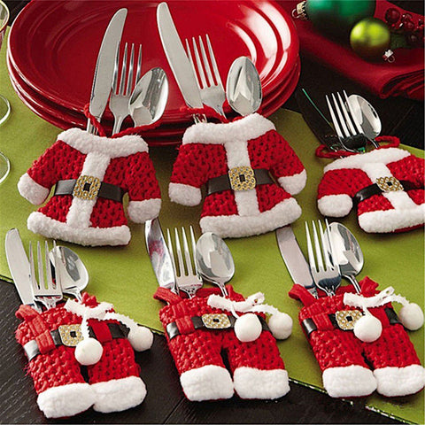 Santa Claus Cutlery Covers