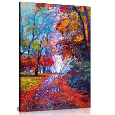 Autumn Love Canvas