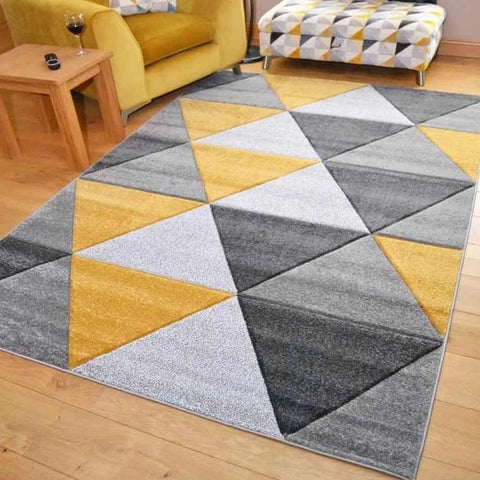 Collide Triangle Rug