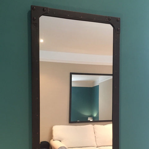 Large Rectangular Industrial Mirror