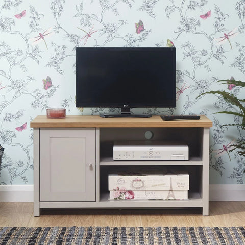 Small Grey TV Cabinet