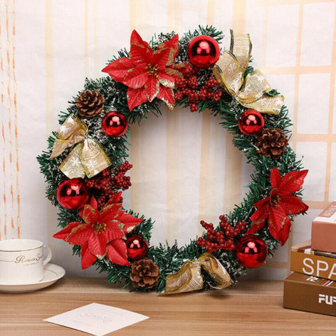40cm Red Wreath
