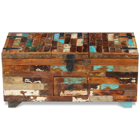 Reclaimed Wooden Coffee Table Chest