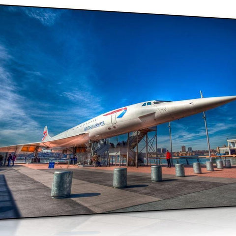 British Airways Concorde Canvas