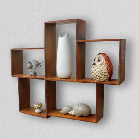 Wooden Wall Mounted Storage