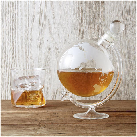 700ml Globe Glass Decanter