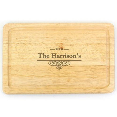 Decorative Personalised Chopping Board